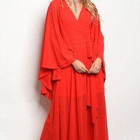 FLASH SALE - Grace and Glamour Red Gown