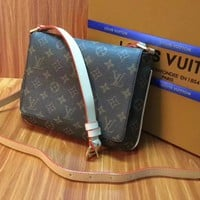 Louis Vuitton Musette Long Strap 5077 Monogram Brown Cross Body Bag