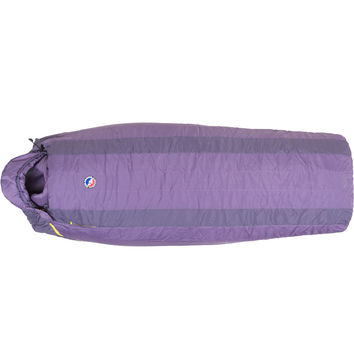 Big Agnes Lulu Sleeping Bag: 15 Degree Synthetic - Women's Purple/Dark Purple,