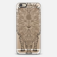 WOOD LION iphone case iPhone 6 case by Monika Strigel | Casetify