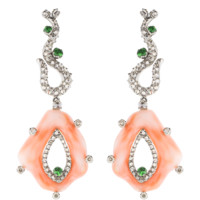 Coral Earrings | Marissa Collections