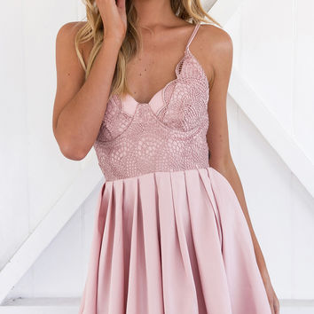 AUBADE DRESS (BLUSH)
