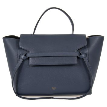Celine Belt Bag | Navy Grain Calfskin