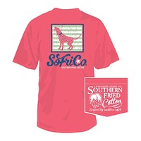 My Girl Dotty Tee in Watermelon by Southern Fried Cotton - FINAL SALE