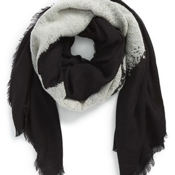 Men's Alexander McQueen 'Degrade' Skull Scarf - Black