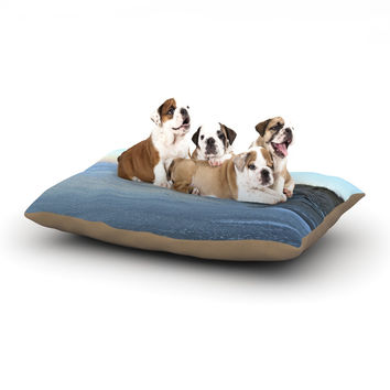 "Robin Dickinson ""Sand Surf Sunshine"" Beach Dog Bed"