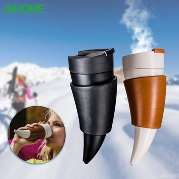 Coffee Cup Insulation Vacuum Thermos Flask Traveling Hot Water Bottle
