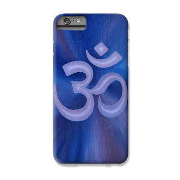 Om iPhone Case Samsung Galaxy S4 / S5 iPhone 4S / 5 / 6 Plus - Yoga Case Art Phone Case - Yoga Gifts Cell Phone Cover Gifts for Yogis