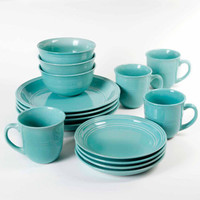 Walmart: Mainstays 16-Piece Round Dinnerware Set