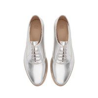 PATENT BLUCHER - Shoes - Woman | ZARA United States