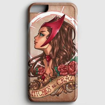 Marvel Scarlet Witch iPhone 8 Plus Case | casescraft