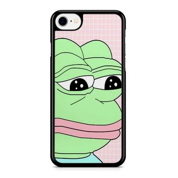 Aesthetic Pepe Frog iPhone 8 Case