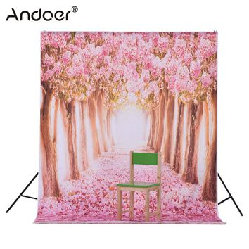Andoer 1.5 * 2.1m/5 * 6.9ft Studio Photo Background Digital Printed Photography Backdrop for Kid Children Baby Newborn Portrait