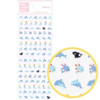 Tiny Dolphins and Killer Whales Shaped Animal Sticker Envelope Seals for Scrapbooking