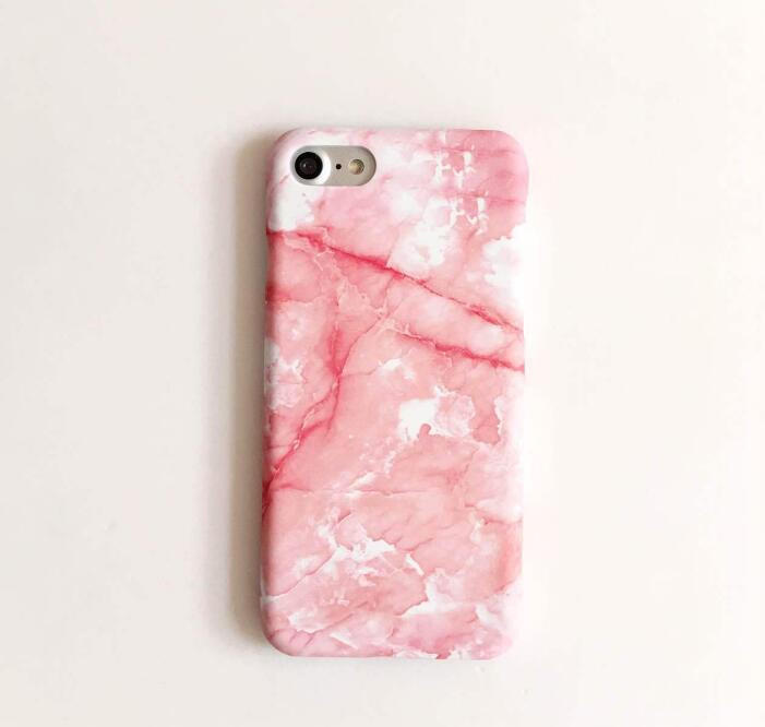 Fashion pink marble phone case for iPhone 7 7plus 6 6S 6plus 6Splus 1107JM01 09f7dadf0