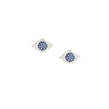 Blue Eyes Earrings