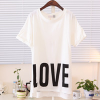 Spring Love and Hate Tee Multiple Colors