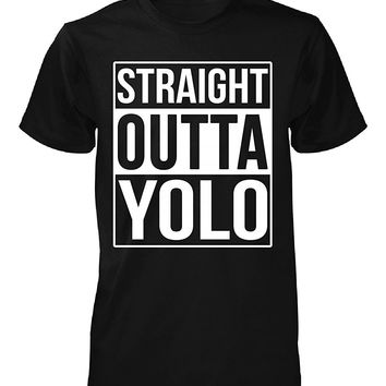 Straight Outta Yolo County. Cool Gift - Unisex Tshirt