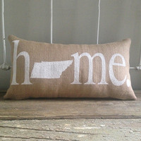 "Tennessee ""Home"" Pillow"