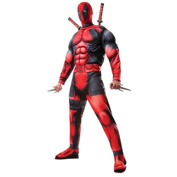 Deadpool Muscle Costume for Men
