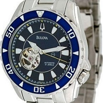 Bulova Men's Automatic Bracelet Watch 98A104
