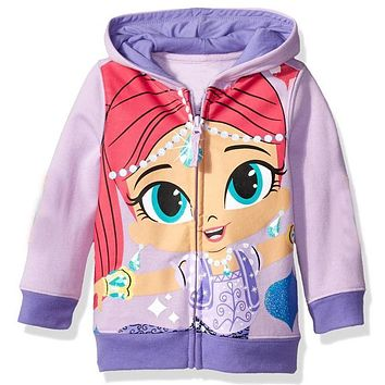 Retail kids shirts hoodies girls and boys coat clothing More color girl clothes cartoon dog tops casual style 1pcs Leisure time