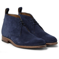 Grenson - Marcus Suede Chukka Boots | MR PORTER