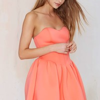 Nasty Gal Sweet Emotion Neoprene Dress