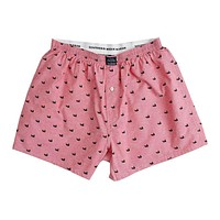 Hanover Oxford Boxers in Red by Southern Marsh
