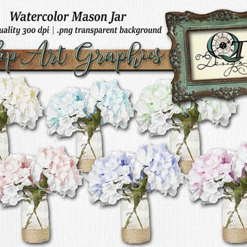 Quality Time Designs   Ball Mason Jar Set  Digital Download   Personal or Commercial Use   Transparent Background   PNG   Clip Art