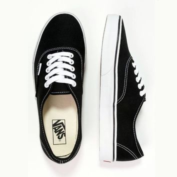 Fashion Online Vans Casual Canvas Shoes Black