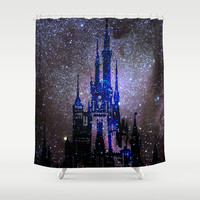 Fantasy Disney Shower Curtain by Guido Montañés