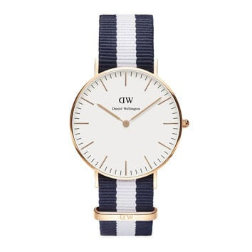 Daniel Wellington Watch - Classic Glasgow Lady - Rose Gold