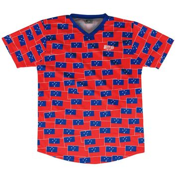 Ultras Samoa Party Flags Soccer Jersey
