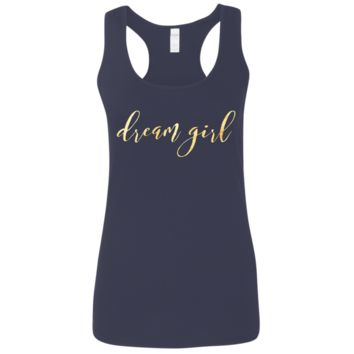 Dream Girl Ladies' Softstyle Racerback Tank