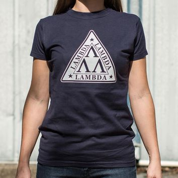 Lambda Lambda Lambda [Revenge of the Nerds] Women's T-Shirt