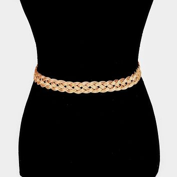 Embellished Metal Waist Belt