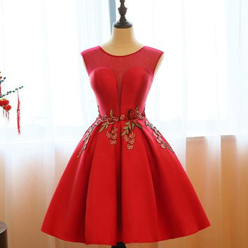 Vintage Short Prom Dresses Cheap Under 100 Graduation Homecoming Dresses For Juniors Formal Evening Dress Vestidos De Gala 2016