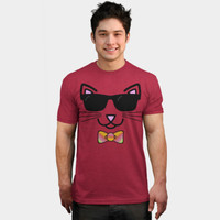 Cool Cat Wearing Sunglasses T Shirt By Gravityx9 Design By Humans