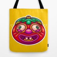 Fruit or Vegetable Tote Bag by Artistic Dyslexia