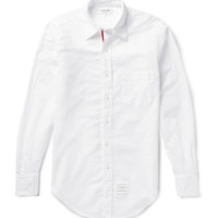 Thom Browne - Button-Down Collar Cotton Oxford Shirt | MR PORTER