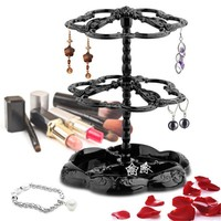 Jewelry Holders Three-tier Rotatable display earring