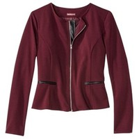 Merona® Women's Double Knit Zip Front Jacket - Assorted Colors