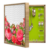 Allyson Johnson Bold Floral And Dots BlingBox Petite