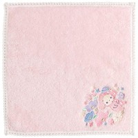 Sentimental Circus mini Towel Pink Sleeping Forest Sheep San-X Japan - VeryGoods.JP