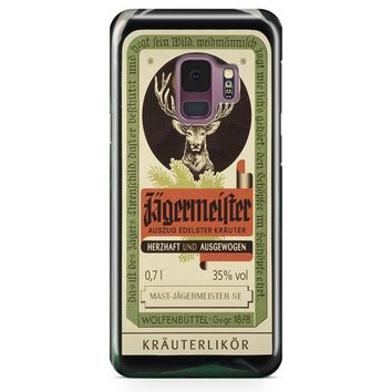 Jagermeister Retro Bottle Samsung Galaxy S9 Case | Casefantasy
