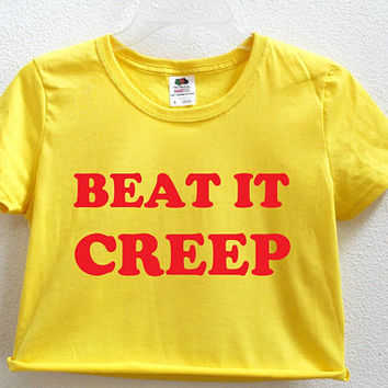 Beat It Creep Women's Crop Shirt