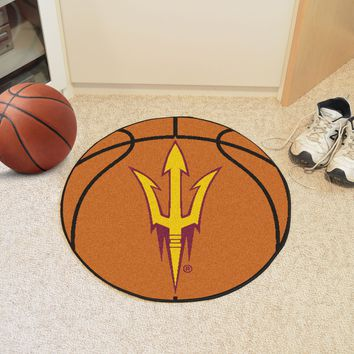 "Arizona State Basketball Mat 27"" diameter"
