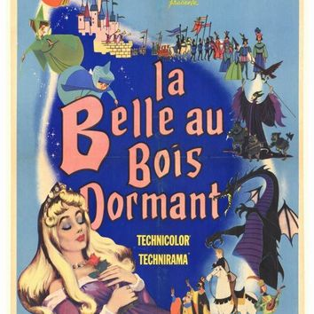 Sleeping Beauty (Foreign) 27x40 Movie Poster (1959)