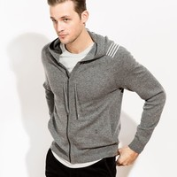 CHESTERMAN HOODIE - HEATHER GREY | Kit and Ace